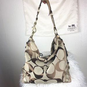 Coach Oversized Monogram Tote with Dust Bag